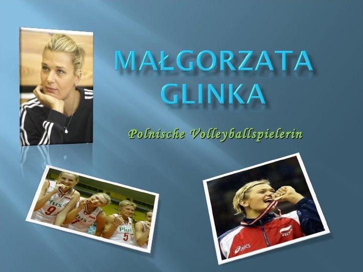 Polnische Volleyballspielerin