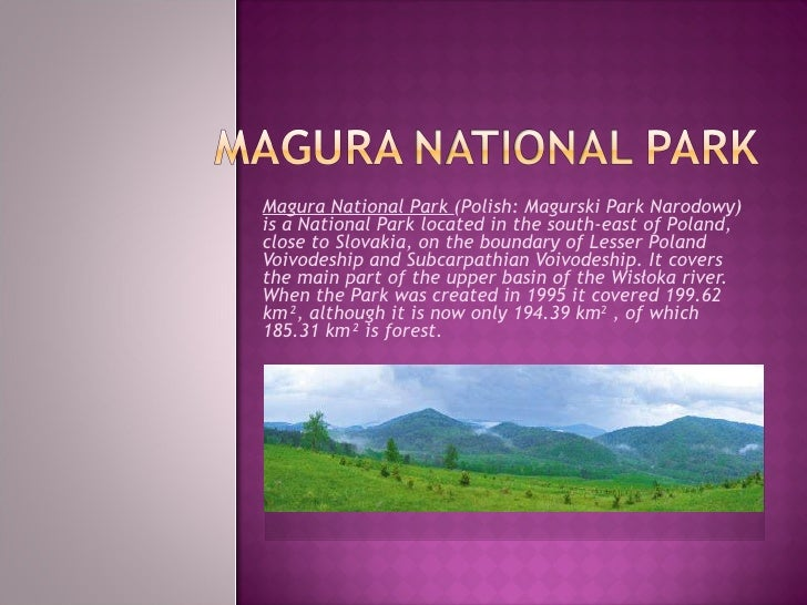 Magura National Park  (Polish: Magurski Park Narodowy) is a National Park located in the south-east of Poland, close to Sl...