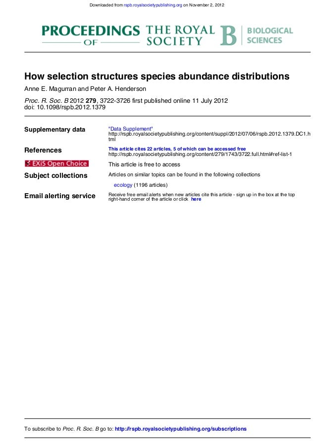doi: 10.1098/rspb.2012.1379, 3722-3726 first published online 11 July 20122792012Proc. R. Soc. BAnne E. Magurran and Peter...