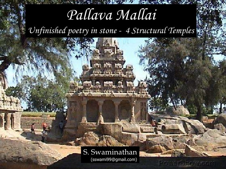 Mahabalipuram Monuments - Part 4 (Structural temples)