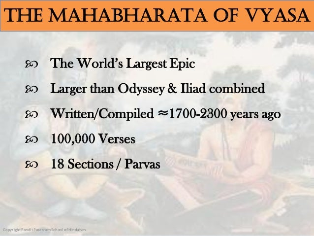 MAHABHARATA - The Summary of Great Indian Epic in a Nutshell