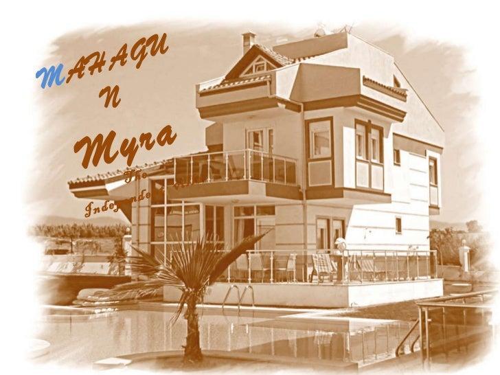 M AHAGUN   Myra The  Independent  villa