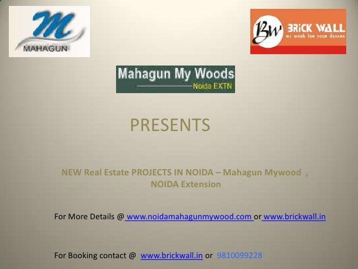 Mahagun mywood noida @ 9810099228