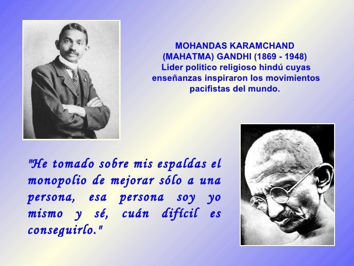 Mahatma Gandhi 60 Aniversario