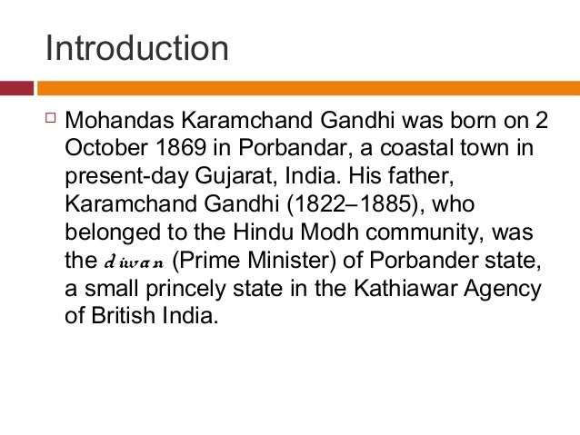 Mahatma gandhi biography in english essay