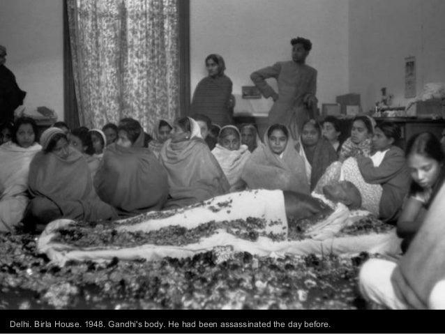 mahatma gandhi by photographers margaret bourke white and