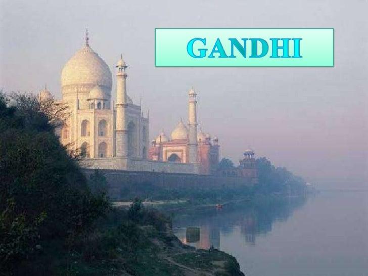 GANDHI<br />