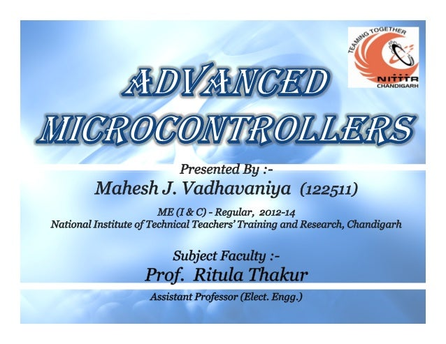 Relevance of MicrocontrollersRelevance of MicrocontrollersRelevance of MicrocontrollersRelevance of MicrocontrollersReleva...
