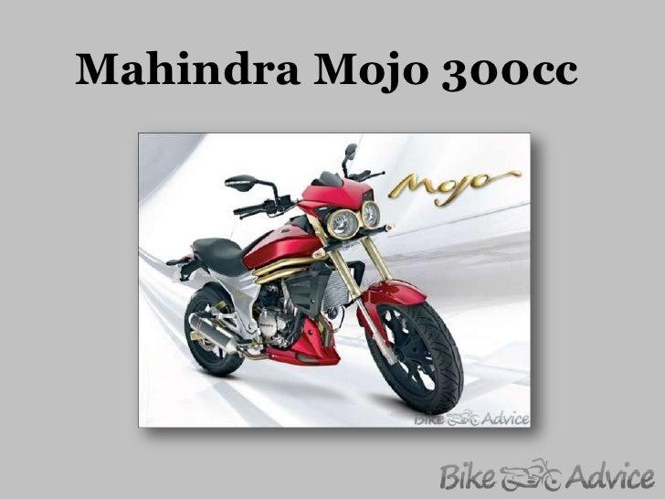 Mahindra mojo 300cc