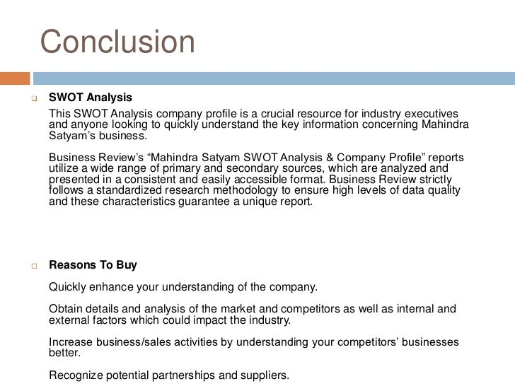 satyam swot analysis See the complete profile on linkedin and discover satyam's connections and jobs at similar companies view satyam tandon, cpcu, ains' profile swot analysis.