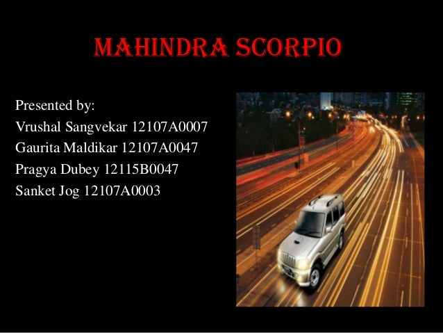 Mahindrascorpio