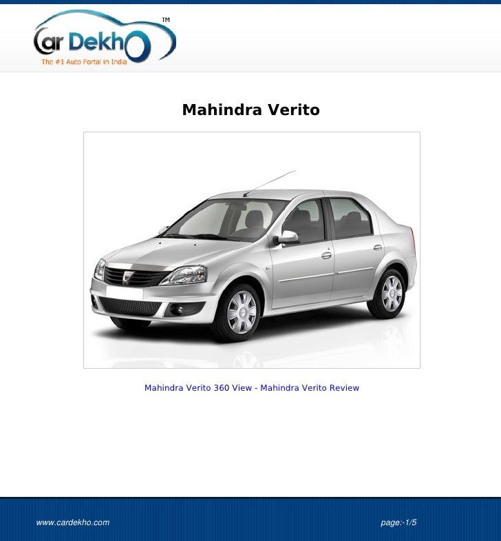 Mahindra Verito                   Mahindra Verito 360 View - Mahindra Verito Reviewwww.cardekho.com                       ...