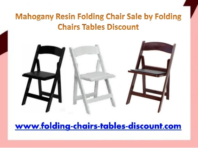Mahogany Resin Folding Chair Sale By Folding Chairs Tables Discount