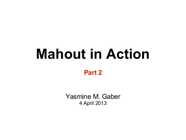 Mahout part2