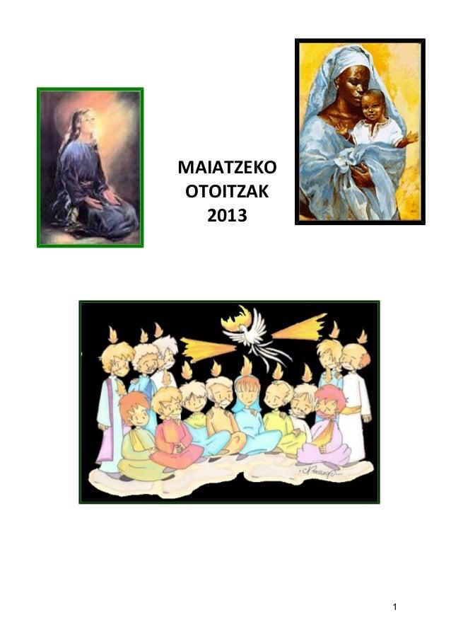 MAIATZEKOOTOITZAK20131
