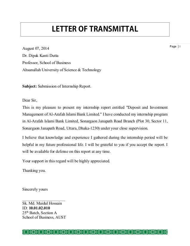 Sample business letters by Quazell