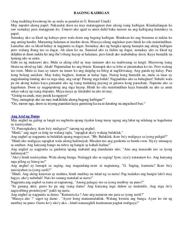 mga maikling kwento Kaunti lamang ang mga tauhan dalawang uri ng tauhan Ø protagonista pangunahing tauhan sa kanya nakasentro ang pangyayari bida Ø antagonista- Þ siya ang lumilikha ng hadlang para huwag magtagumpay ang pangunahing tauhan.