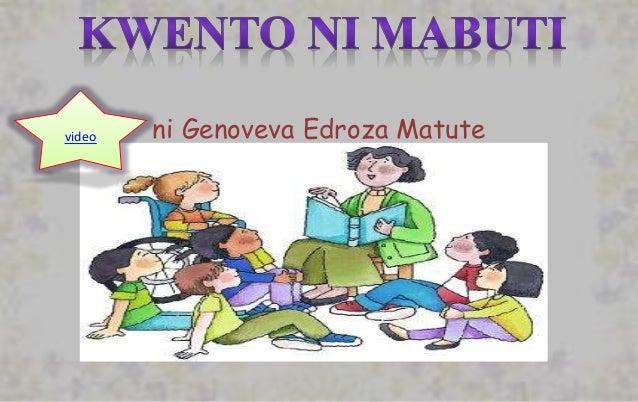 Tauhan sa Kwento ni Mabuti