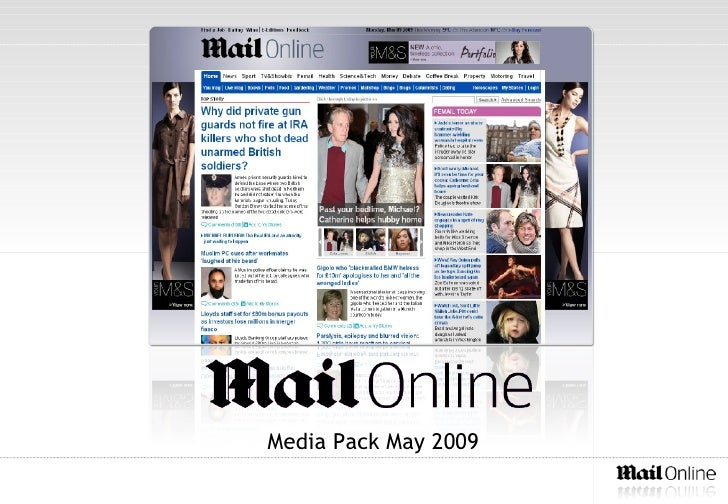 Daily Mail Audience Pack