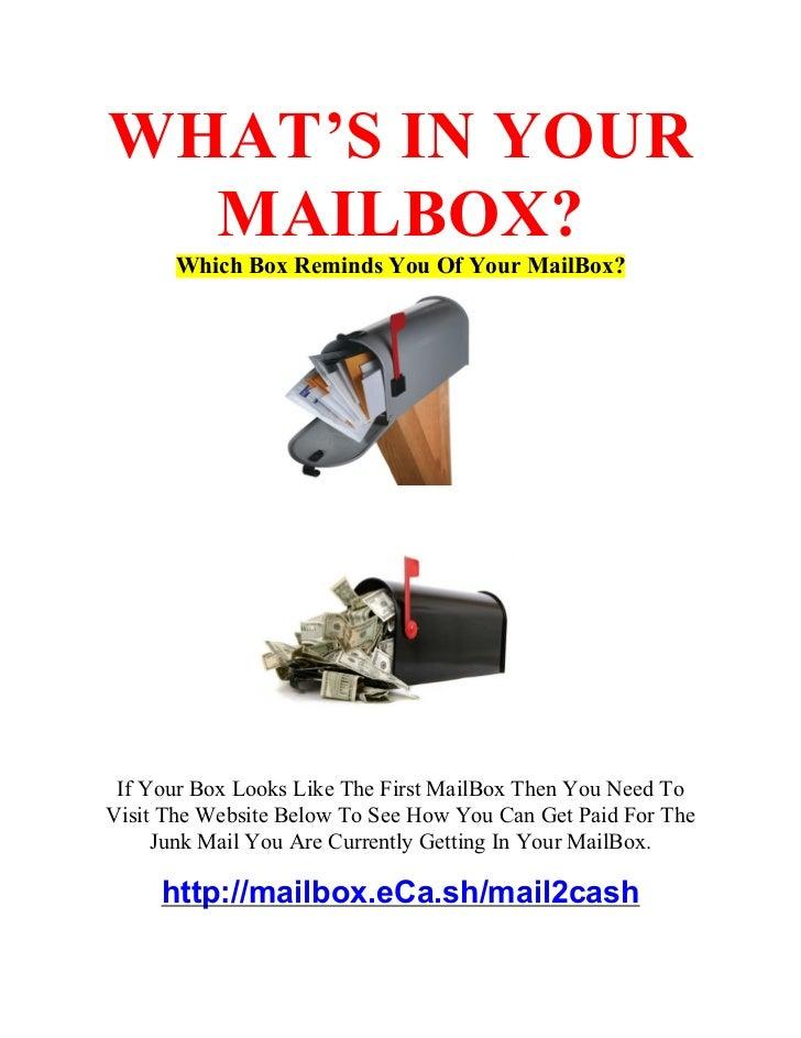 Mailbox News