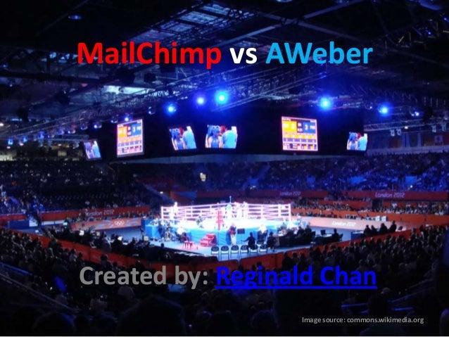 Email Marketing Services - MailChimp vs AWeber