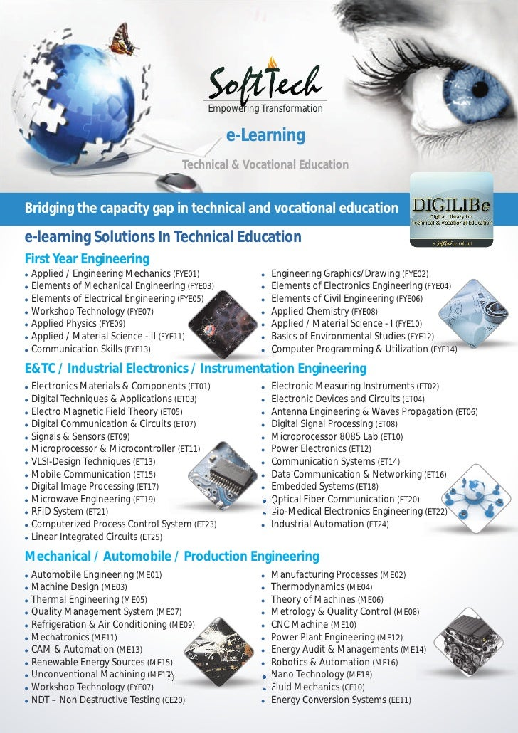 Mailer e learning technical education