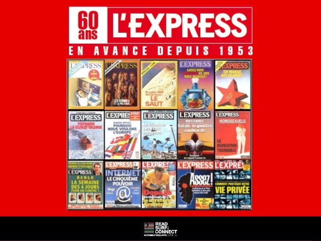 Mailings 60 ans L'Express