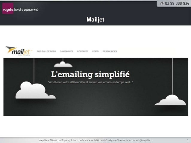 MailjetVoyelle – 40 rue du Bignon, forum de la rocade, bâtiment Oméga à Chantepie - contact@voyelle.fr   1