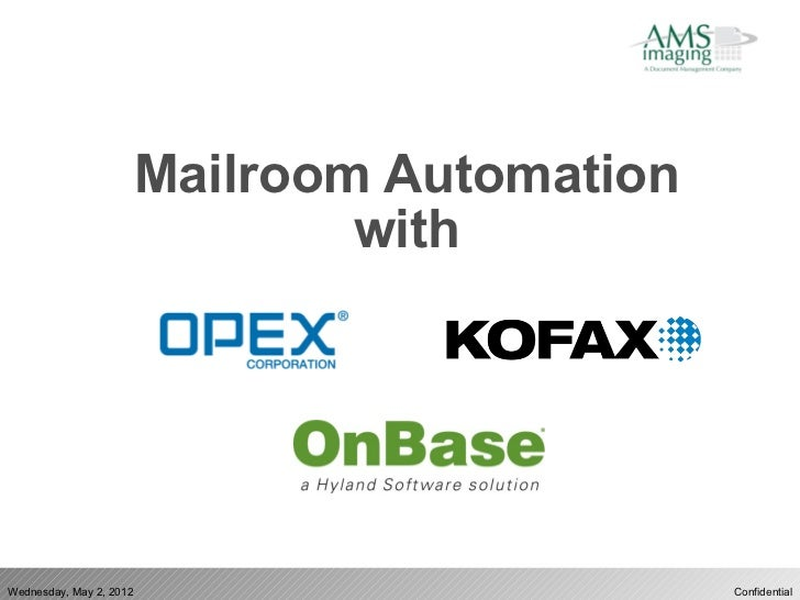Digital Mailroom Automation - AMS Imaging