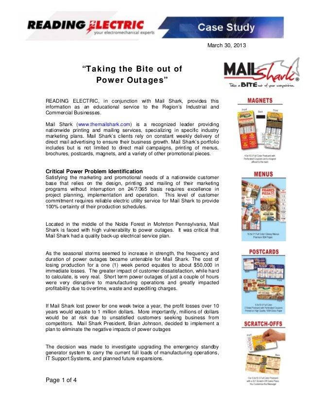 Mail shark case study