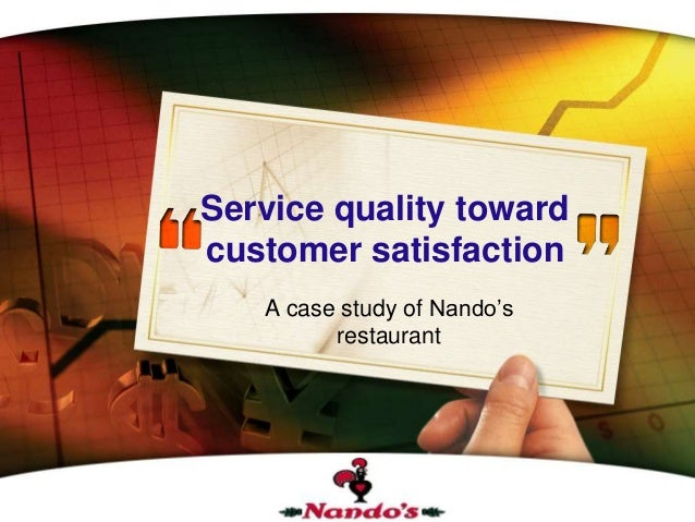 satisfaction on restaurants services When creating the tool, makes sure to include these 10 restaurant  what did  you like best about our food and services  a well-trained team in your  restaurant will result in higher customer satisfaction and ultimately help.