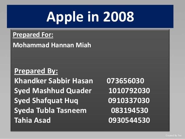 Apple in 2008