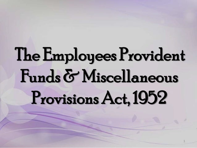 Main employee pf & misc act02