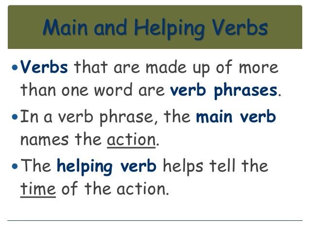 common action verbs