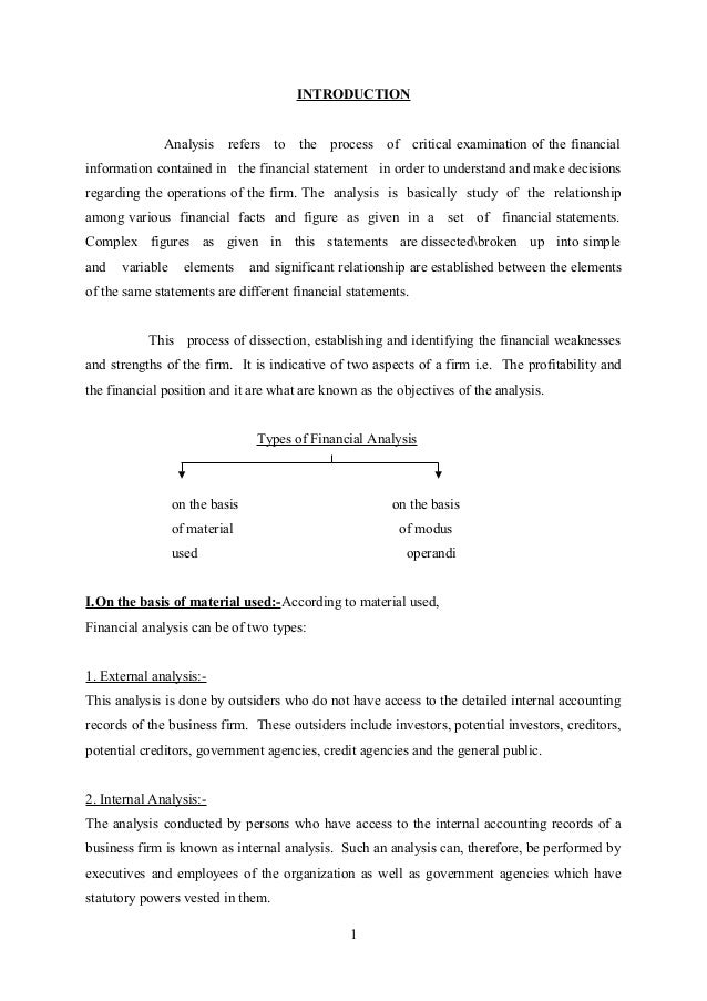 literature review of financial statement analysis paper Fraud and forensic accounting in a digital environment financial statement fraud: ratio analysis for a full literature review, see the paper.