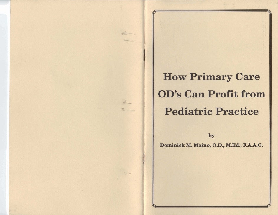 Foreword: Why Pediatrics?                                                          Getting Started in     When we announce...