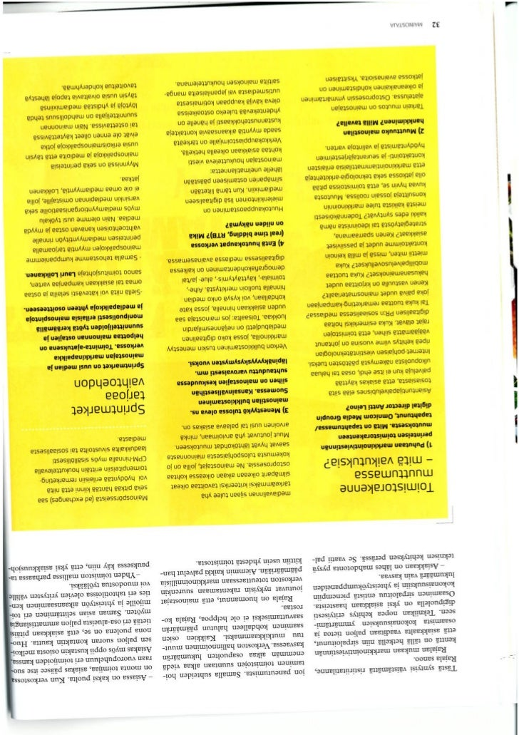 Interview May 2012 Mainostaja-lehti