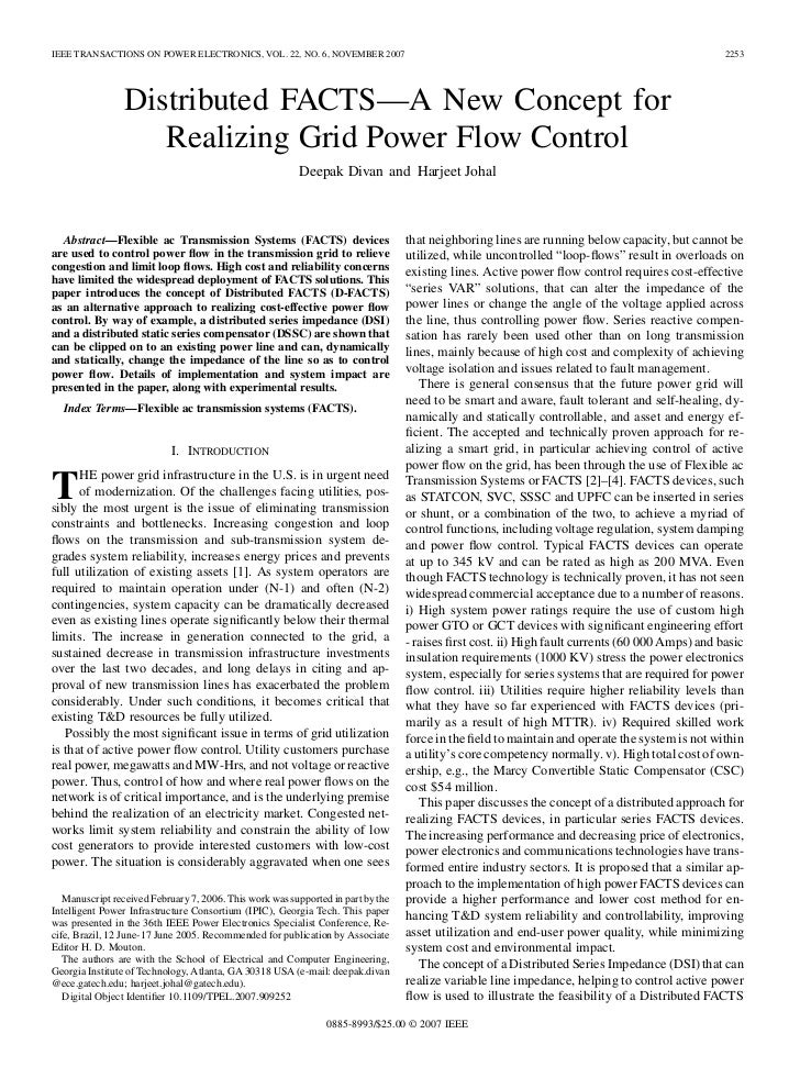 IEEE TRANSACTIONS ON POWER ELECTRONICS, VOL. 22, NO. 6, NOVEMBER 2007                                                     ...