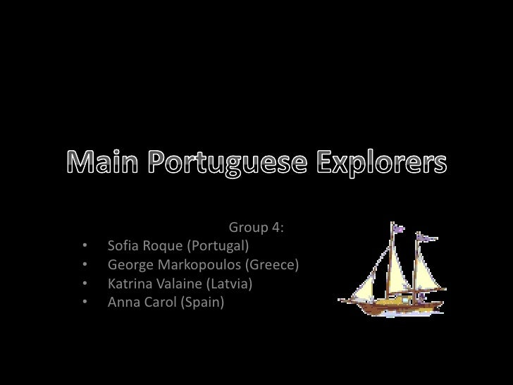 Main portuguese explorers