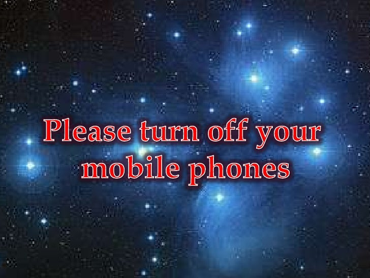 Please turn off your <br />mobile phones<br />