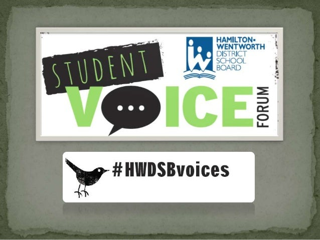  #HWDSBvoices   #GREATschools   #PROGRAMchoices   #ACHIEVEMENT   #ENGAGEMENT   #EQUITY Please always use #HWDSBvoic...