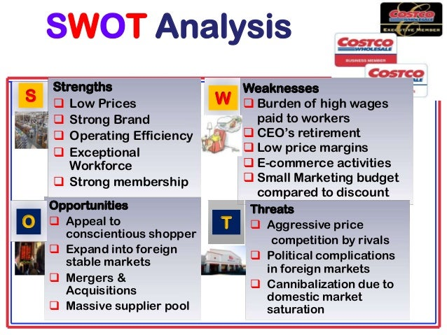 SWOT Analysis: Costco Wholesale Corporation