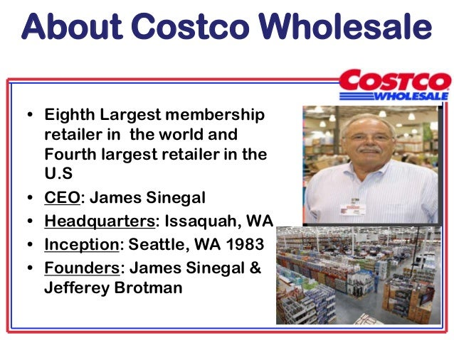 costco marketing strategy term paper Swot matrix and organizational strategic plan paper  marketing seasonality of sales  strategy 2: expand marketing operations through various social media.