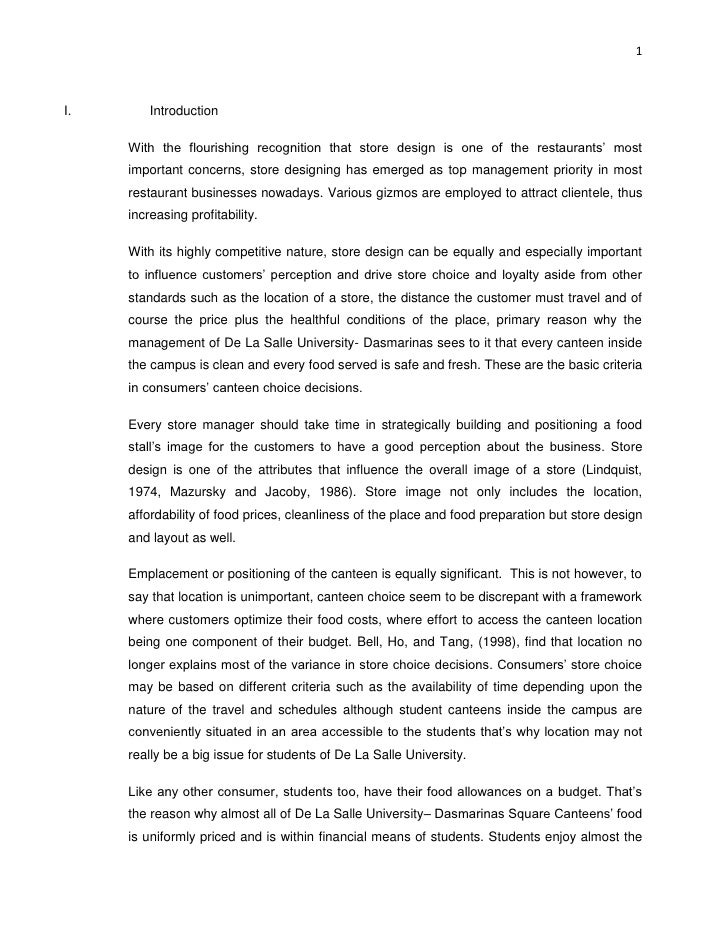 Marketing research paper layout apa