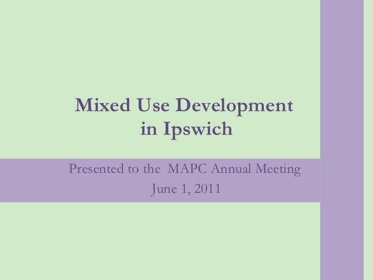 Ipswich, Mass. Mixed-use Development