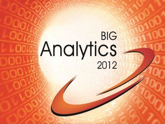 Big Analytics 2012 Event Survey Data