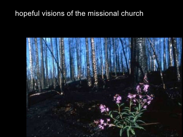 hopeful visions of the missional church