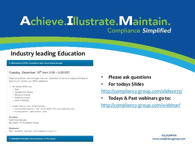 Industry	   leading	   Education	    Certified	   Partner	   Program	    	     •  Please	   ask	   questions	    •  For	   ...