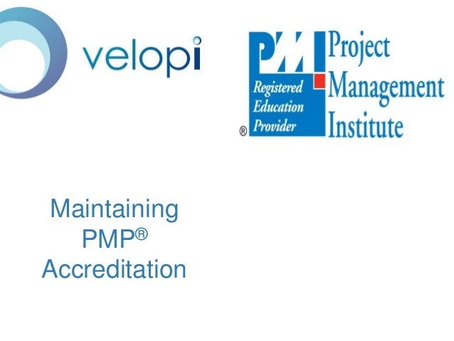 Maintaining PMP Accreditation