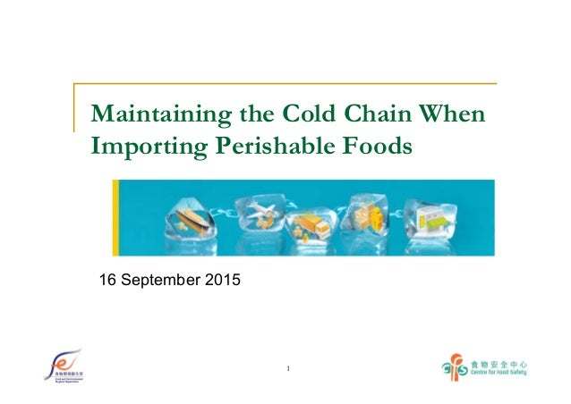 perishable food chain The research paper published by ijser journal is about loss in perishable food supply chain: an optimization approach literature review.